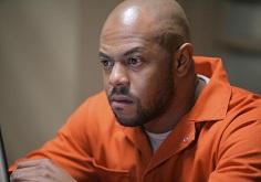 "PRISON BREAK: C-Note (Rockmond Dunbar) tries to contact Michael in the PRISON BREAK episode ""Wash"" airing Monday, Feb. 26 (8:00-9:00 PM ET/PT) on FOX. ©2007 Fox Broadcasting Co. Cr: Bill Matlock/FOX"