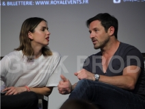 Shelley Hennig - Ian Bohen