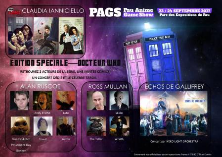 spéciale Doctor Who PAGS